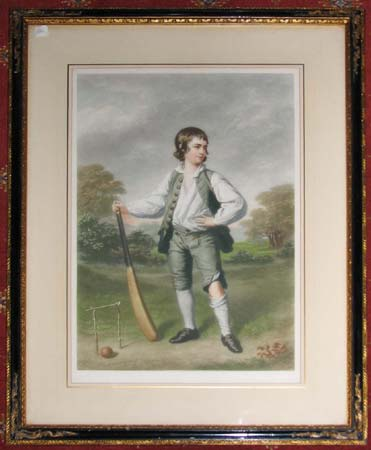 [Louis Cage, the Young Cricketer].