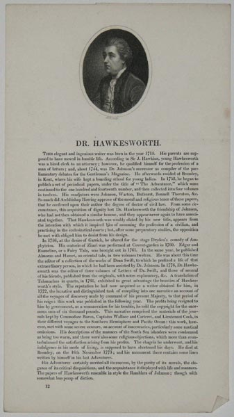 Dr. Hawkesworth