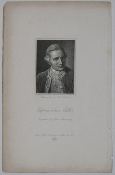 Captain James Cook.