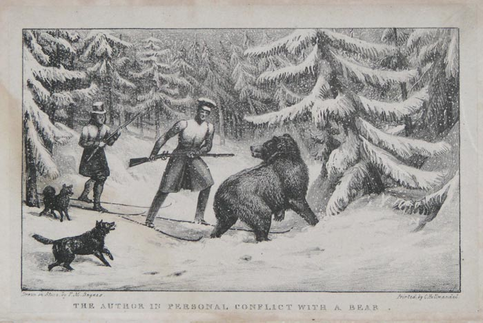 The Author In Personal Conflict With A Bear.