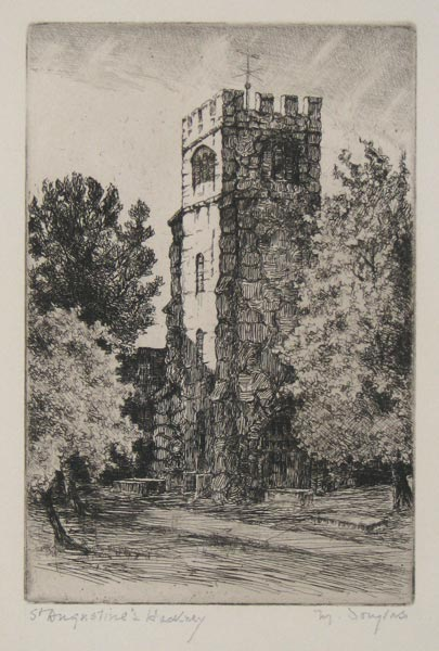 St Augustine's, Hackney [pencil.]