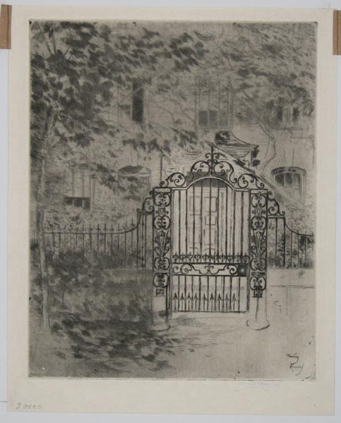 ['The Little Gate' - Chelsea.]