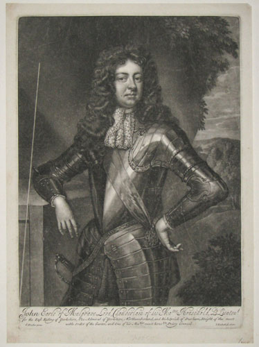 John Earle of Mulgrave, Lord Chamberlain of his Ma.ties Household,
