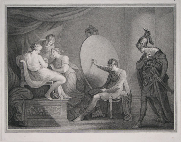 [Alexander giving up his favourite mistress Campaspe to Apelles.]