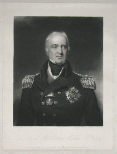 Vice Admiral Sir Pulteney Malcolm G.C.B. &c.&c.