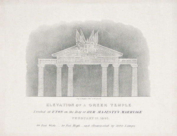 Elevation of a Greek Temple