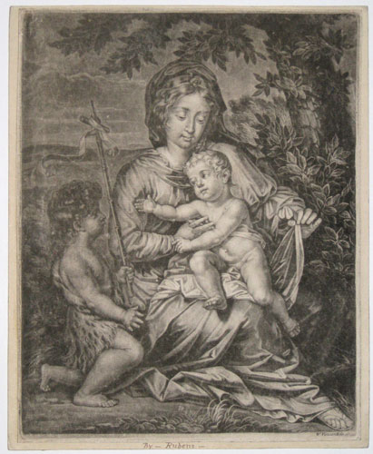 [Virgin Mary and Child.]