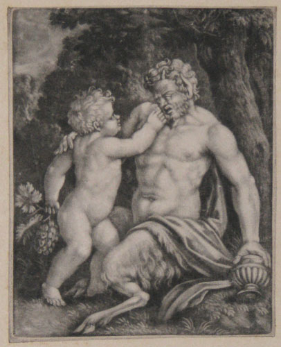 [Child and Satyr.]