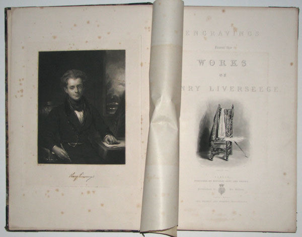 Engravings fron the Works of Henry Liverseege. With a Memoir by George Richardson, author of 'Patriotism,' 'Miscellaneous Poems,' &c.
