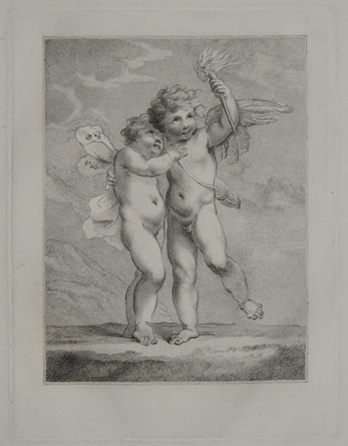 [Cupid and Psyche?]