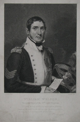 William Wheldon, Trumpet-Major of the 13th Light Dragoons.