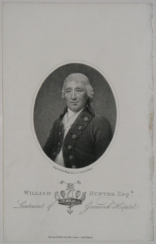 William Hunter Esqr. Lieutenant of Greenwich Hospital.