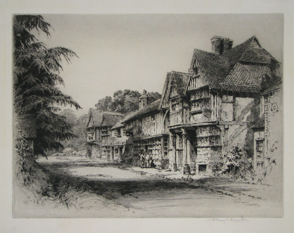 Chiddingstone [scratched in plate lower right.]