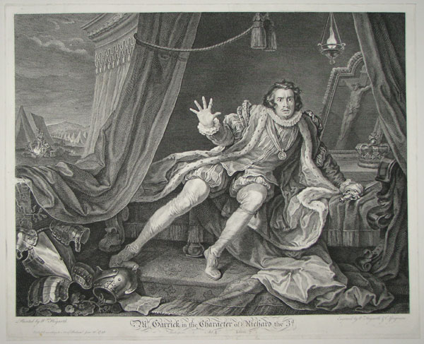 Mr Garrick In The Character Of Richard The IIId.