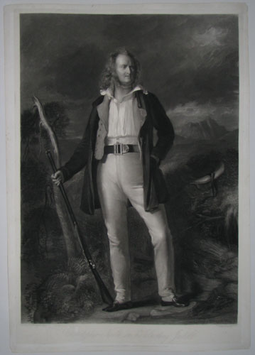 [John Wilson] Christopher North in his Sporting Jacket.