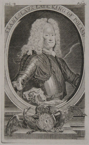 Stanislaus Late King of Poland.