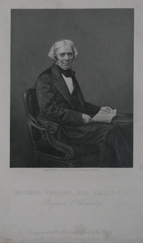 Michael Faraday, Esq. F.R.S. D.C.L.