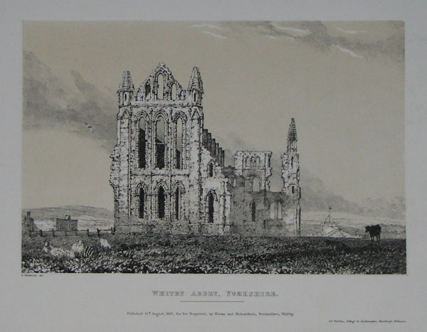 Whitby Abbey, Yorkshire.