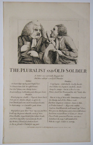 The Pluralist and Old Soldier.