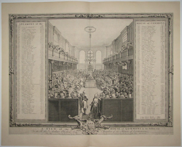 A View of the House of Commons in the Session 1741/2.