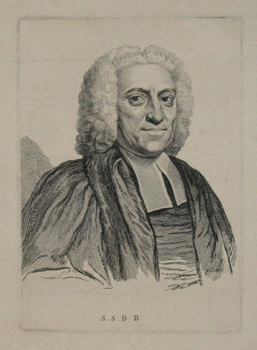 S.S.D.D. ...Dr. Salter Prebendary of Norwich. [in ink outside the image.]