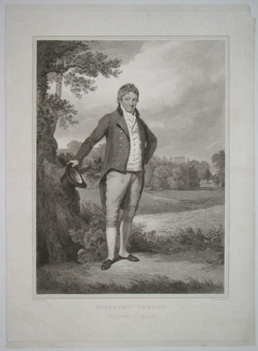 Viscount Curzon. Feby. 13th. 1813 _ Aged 84.