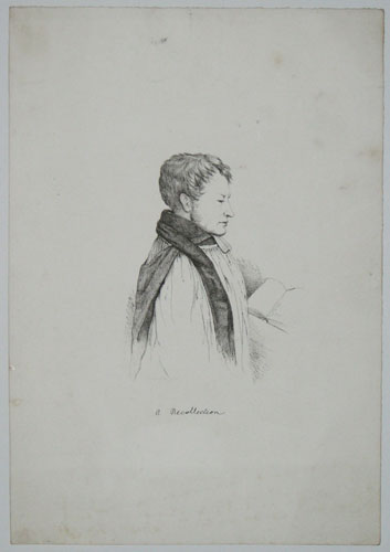 A Recollection. E.B. Pusey [in pencil.]