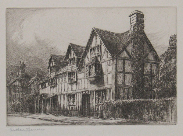 [Shakespeare's Birthplace, Stratford-on-Avon.] 18.