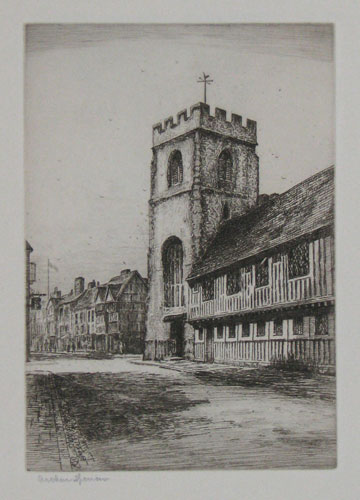 [Grammar School, Stratford-on-Avon.] 23.