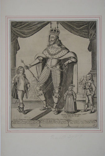 [King Charles I and his three sons.]
