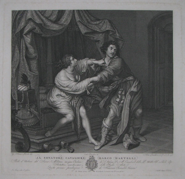 [Joseph and Potiphar's wife.]