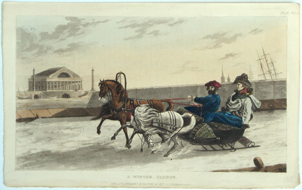 A Winter Sledge. Pl. 15, Vol.I.