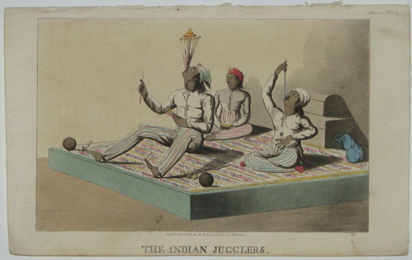 The Indian Jugglers.