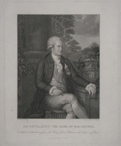 His Excellency the Earl of Macartney,