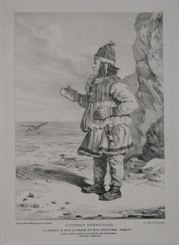 Andreas Henrickson. A Shore Laplander in his Winter Dress.