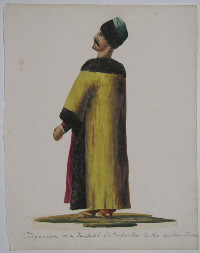Tergeman or a Turkish Interpreter in the Austrian Service