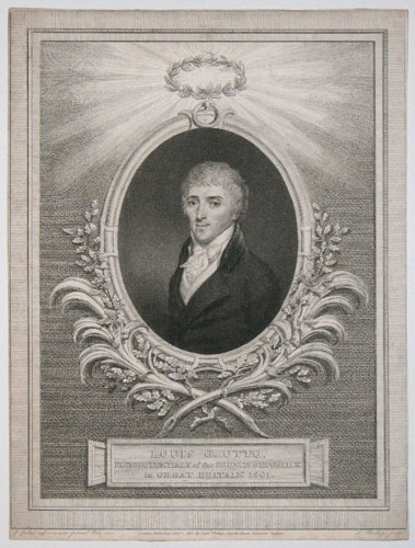[France] Louis G. Otto, Plenipotentiary of the French Republick in Great Britain 1801.