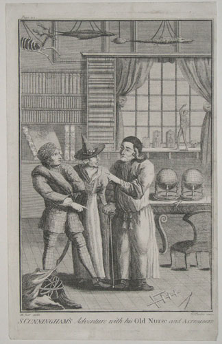 S. Cunningham's Adventure with his Old Nurse and Astrologer. Plate 32.