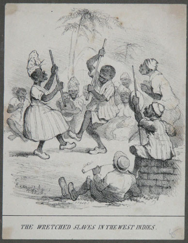 The Wretched Slaves in the West Indies.