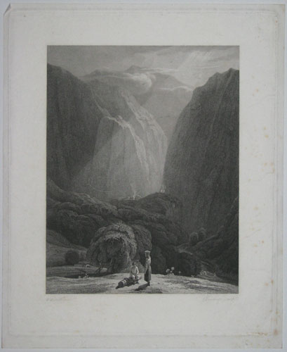 [Scene in the Mountains - India.]