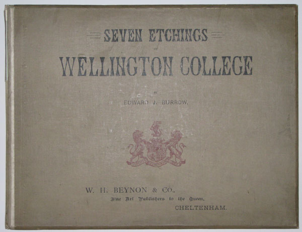 Seven Etchings of Wellington College