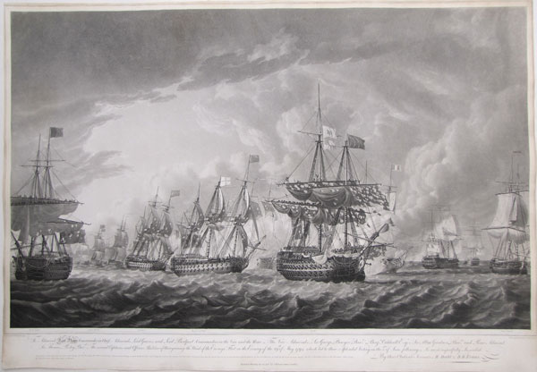 To Admiral Earl Howe Commander in Chief; Admirals Lord Graves, and Lord Bridport, Commanders in the Van and the Rear_ The Vice Admirals, Sir George Bowyer Bart. Benj.n. Caldwell Esqr. Sir. Allan Gardner Bart. and Rear Admiral Sir Thomas Pasley Bart. The