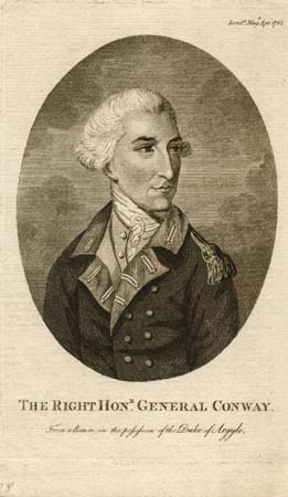 The Right Hon.e General Conway. From a Picture in the Possession of the Duke of Argyle.