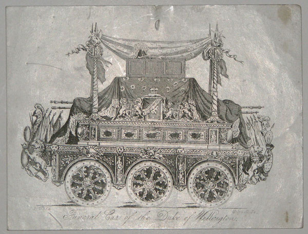 Funeral Car of the Duke of Wellington.