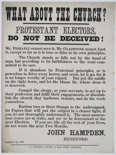 What About The Church? Protestant Electors, Do Not Be Deceived!