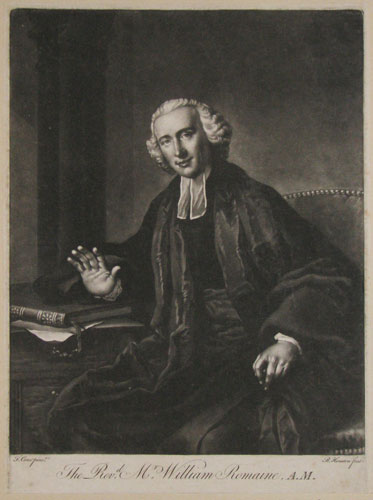 The Rev.d Mr William Romaine, A.M.