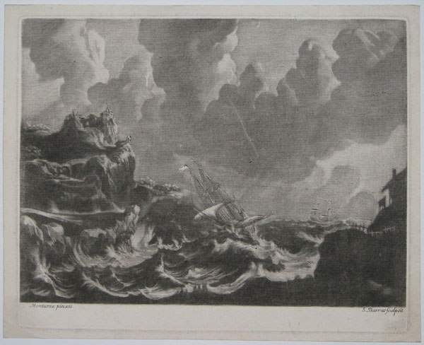 [ SEASCAPE - from the collection of Marquis Jean Baptiste Boyer d'Aguilles]