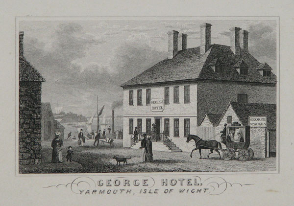 George Hotel, Yarmouth, Isle of Wight.