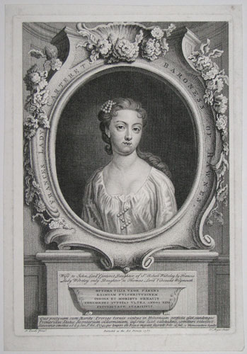 Frances Lady Carteret Baroness of Hawnes.