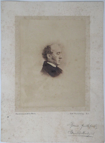 [In ink above image:] Edward Hodges. Mus. D. Cantab. 1825. Born 1796. organist of several Bristol churches. and to New York and organist of S. John's Episcopal Chapel & Trinity Church. 1846. Returned to England. 1864. Died 1867.